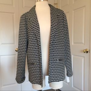 NWT Christopher & Banks open front blazer